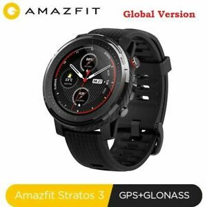 Global Xiaomi AMAZFIT Stratos 3 GPS 19 Sports M 5ATM Waterproof Men Smart Watch