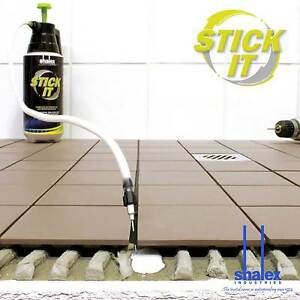 details about fix loose drummy tiles without removing them with stickit 5ltr kit by shalex