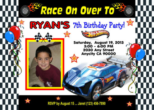 invitations announcements hot wheels racing custom printable birthday party invitation free ty card specialty services sintelsat com
