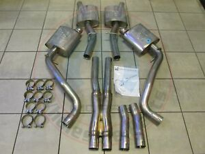details zu dodge challenger 5 7l mopar cat back performance exhaust system new oem mopar