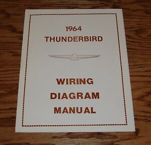 1964 Ford Thunderbird Wiring Diagram Manual 64 | eBay