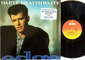 DARYL BRAITHWAITE-Edge-LP-1988 CBS Records Australian ...
