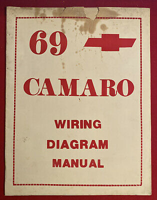 jim osborn mp34 69 1969 camaro wiring diagram manual chevy chevrolet  restora  ebay