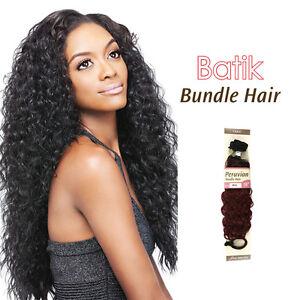 outre batik peruvian bundle synthetic hair weave extension 26 natural wave