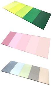 details sur plufsig tapis gymnastique tapis gymnastique enfants ikea vert rose bleu 185x78x3 2cm afficher le titre d origine