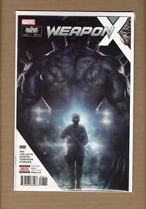 WEAPON X #8 Weapon H Marvel Comics NM+