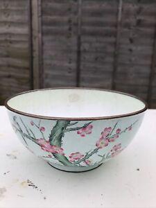 Chinese Antique Cloisonné Enamel Bowl