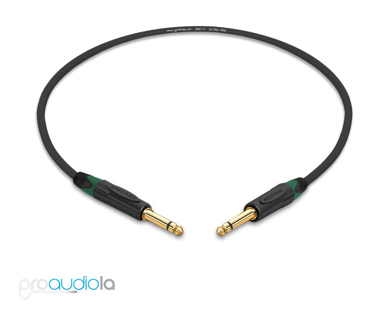 Gotham Gac 1 Ultra Pro Instrument Cable Neutrik Gold 1 4