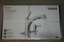 kohler maxton r30124 sd cp pull out kitchen faucet in chrome c02