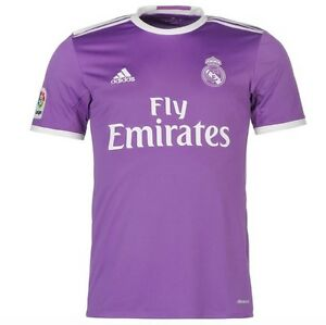 Adidas Real Madrid Away Away Jersey Purple Purple 2016 ...