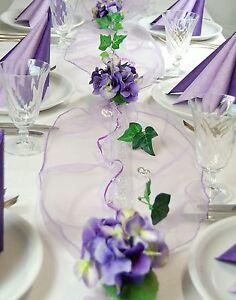 Weddingdeko Deko Lila Flieder Lavender Deko Styleandmore