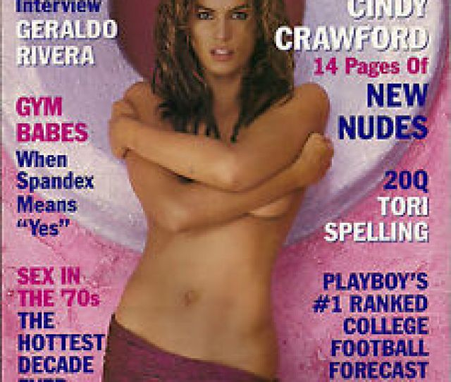 Image Is Loading Playboy October 1998 R Laura Cover Cindy Crawford