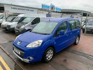 2011 Peugeot Partner Tepee 1 6 Hdi 92 S 5dr Disabled Converted From New With Ram Ebay