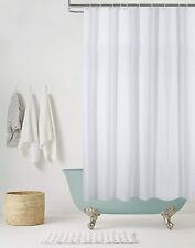 knight 100 polyester shower curtain white 180cm x 180cm 915176