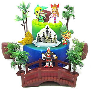 The Legend Of Zelda Birthday Cake Topper Set Featuring Princess Zelda And Ebay