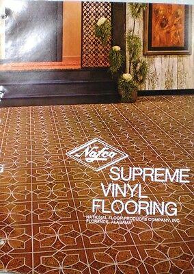nafco national floor products asbestos vinyl tile hydrafelt backing 1970 ebay