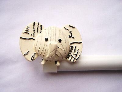 1 2m 2m childrens kids animal extendable elephant bedroom curtain pole 16 19mm ebay