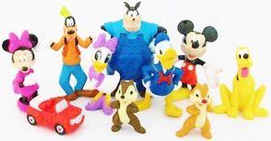 Mickey Mouse Clubhouse Figure Play Set Disney Pvc Toy Pete Pluto Minnie Goofy Ebay
