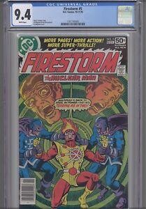 Firestorm #5 CGC 9.4 1978 Marvel Comic: NEW Frame