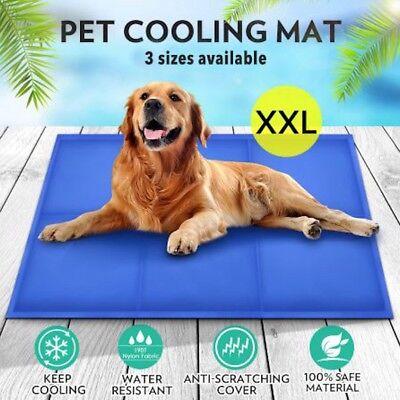 gel cooling mat for dog cat pet self cooling pillow summer hot weather xxl large ebay