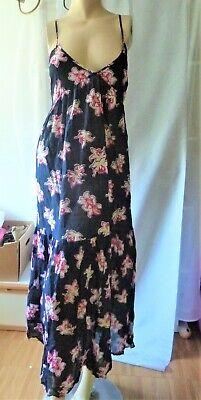 Hippie Long Tunika Sommer Kleid Folklore Stickerei Floral Blogger