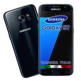 "Samsung • GALAXY S7 • 32Gb NERO • GARANZIA ITALIA • NO BRAND Black 5.1"" G930F 4G"