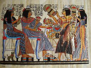 Malereien Nach Motiven Agyptischer Wandbilder