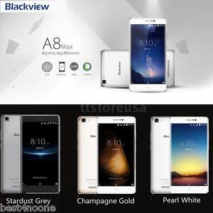"5.5"" Blackview A8 Max 4G Smartphone Android 6.0 Quad Core 2G+16G 8.0MP 3000mAh"