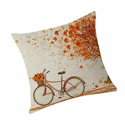bleum cade autumn fall big tree pillow cover maple leaf bicycle throw pillow ebay