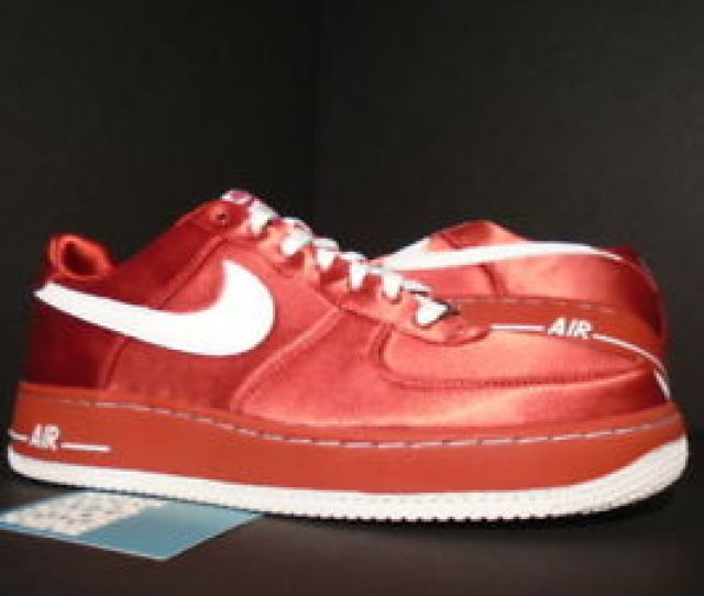 Image Is Loading 2007 Nike Air Force  Valentine