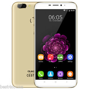 "OUKITEL U20 Plus 5.5"" 4G LTE Smartphone Android Quad Core 2GB+16GB 13MP Touch ID"