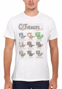 Catvengers Marvel Comic Cat Kitten Men Women Vest Tank Top Unisex T Shirt 1794