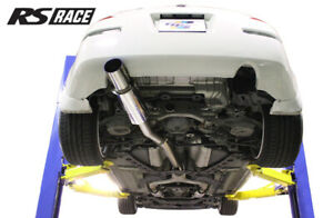 details about greddy rs race 3 y pipe back single exit exhaust for 03 08 nissan 350z z33
