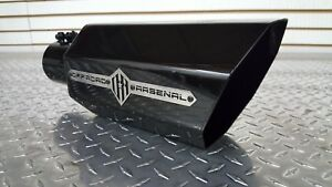 details about offroad arsenal 4 inlet 8 outlet 18 diesel octagon exhaust tip gloss black l