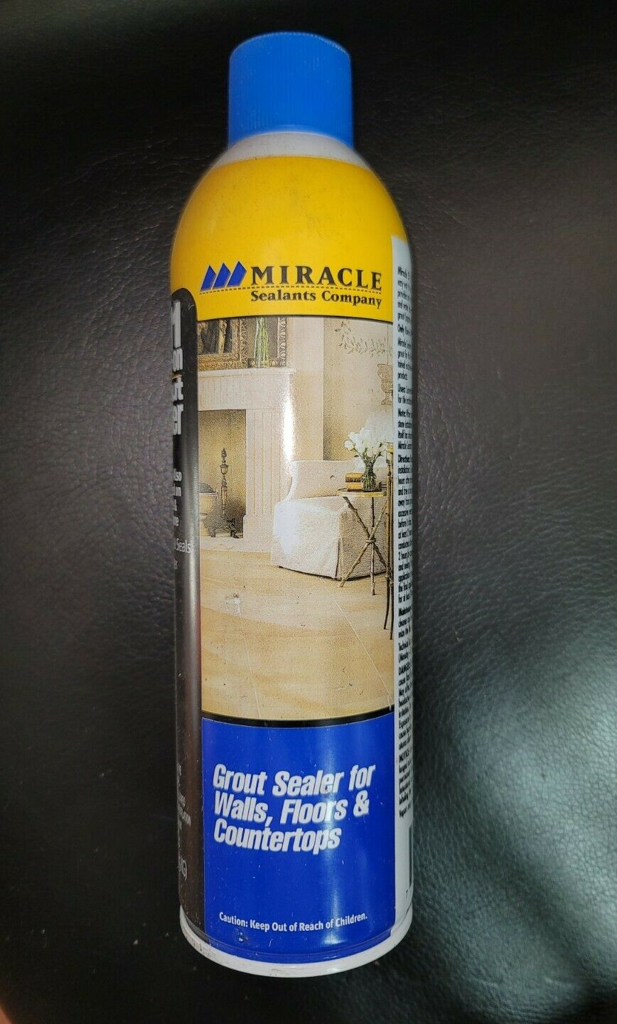 This spray-on sealer is a penetrating sealer that creates a tough barrier on the tile grout making the surface resistant to stains oil and water absorption. Miracle Sealants 511 Spray On Grout Sealer 15 Oz Spray For Sale Online Ebay
