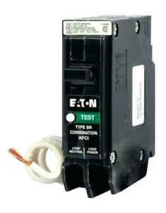 Brand New Eaton BRN115AF 15 Amp Single Pole Br1 Circuit Breaker