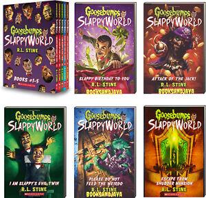 Goosebumps Slappyworld Slappy Geburtstag Fur Sie 1 5 Von R L Stine Box Set Ebay