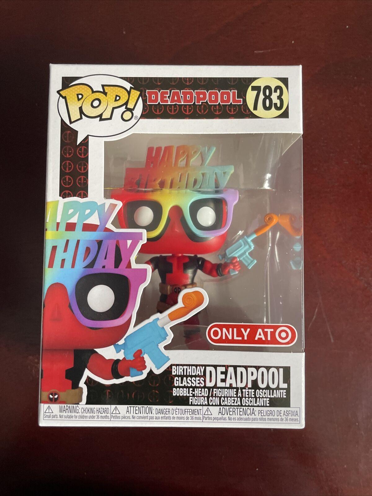 Funko Pop Birthday Classes Deadpool Bobble Head 783 For Sale Online Ebay