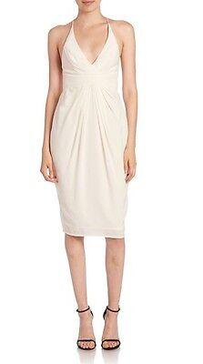 Zimmermann Silk Crossback Dress | Pearl White | Bridesmaid Cocktail  | $400 RRP