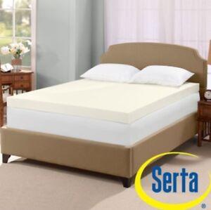 Image Is Loading Serta Ultimate 4 Inch Visco Memory Foam Mattress