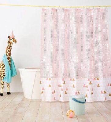 pillowfort seahorse kids shower curtain
