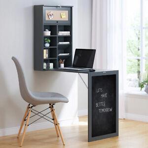 details sur table pliante bureau noir classeur tableau tableau pinn etagere murale boite