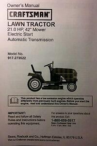 Sears Craftsman 21 Hp Lt1000 Lawn Mower
