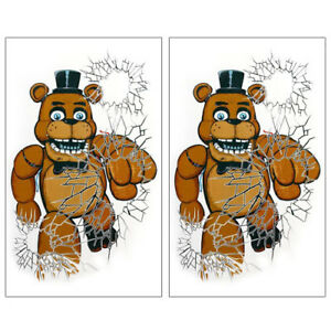 Five Nights At Freddy S Giant Window Posters 2 Birthday Party Supplies Fnaf 721773781889 Ebay