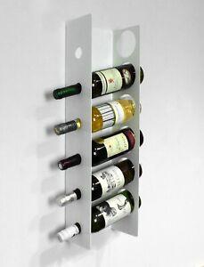 details sur 6 bouteilles de vin rack support mural support meuble de rangement armoire cuisine bar blanc afficher le titre d origine