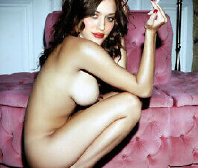 Kat Dennings  Broke Sexy Lingerie Hot Celebrity Rare Exclusive
