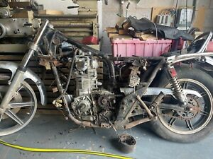 Yamaha XS650 1979 Barn Find Restoration Project Spares or Repair Bobber Tracker