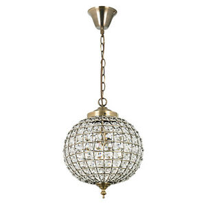 Image Is Loading Moroccan Style Tanaro Antique Brass Amp Crystal Electrical