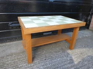 details about tiled top coffee table