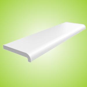 Pvc Appui De Fenetre Blanc Softline Plastique Rebord Pour Interieur Avec Embouts Ebay